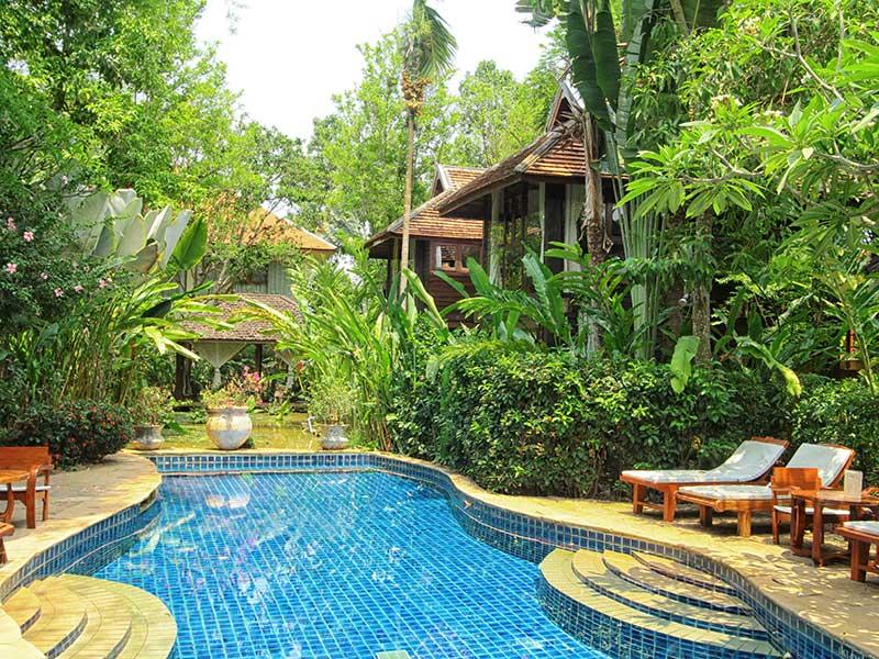 Chiang Mai Resort Swimming Pool Ban Sabai Village Chiang Mai