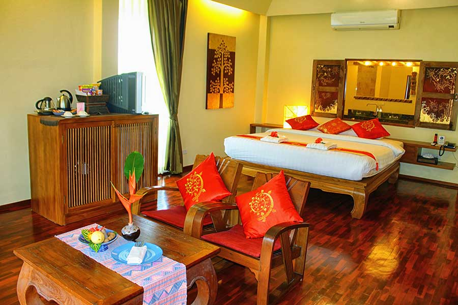 Ban Sabai Village Resort And Spa Chiang Mai Accommodation Jacuzzi Junior Suite