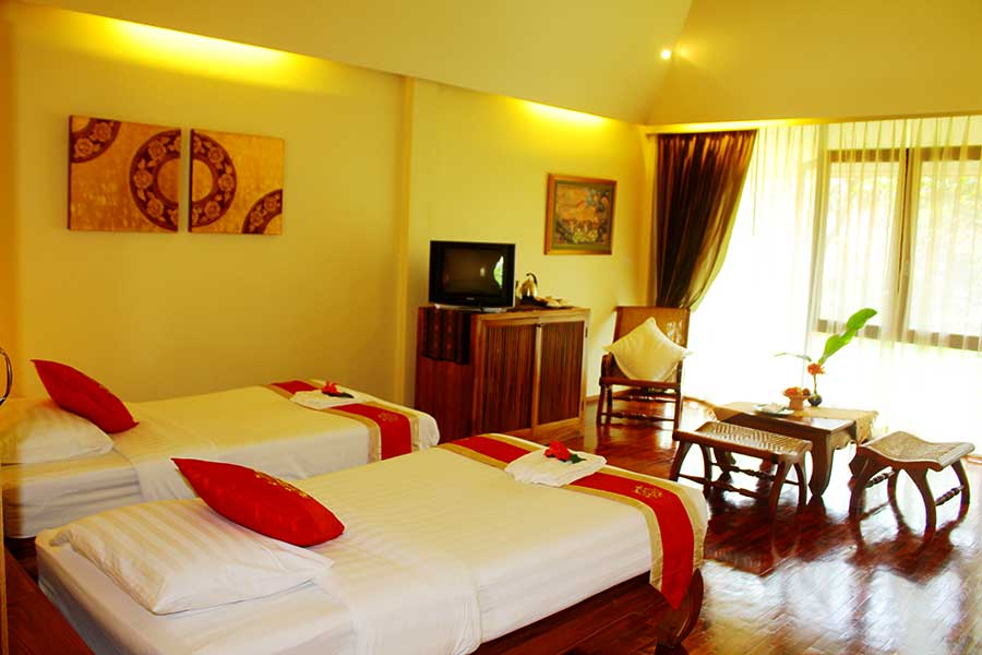 Jacuzzi Junior Suite Accommodation 08 Ban Sabai Village Resort And Spa Chiang Mai