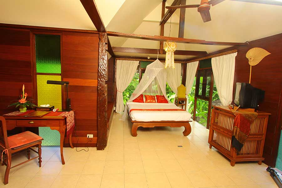Lanna Room Accommodation Ban Sabai Village Resort And Spa Chiang Mai