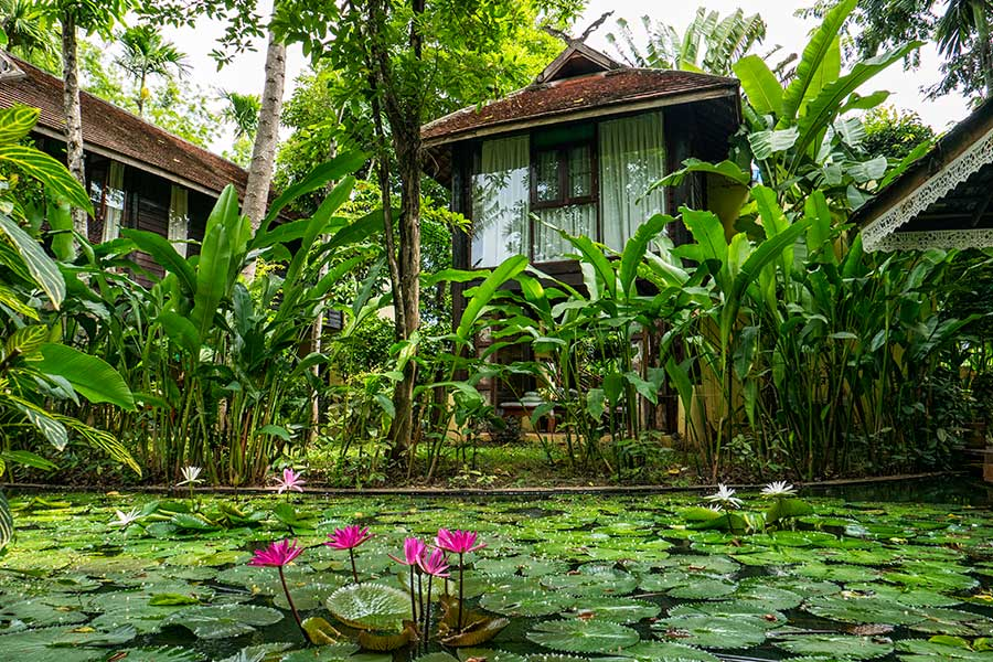 Lanna Spa Villa Accommodation 11 Ban Sabai Village Resort And Spa Chiang Mai