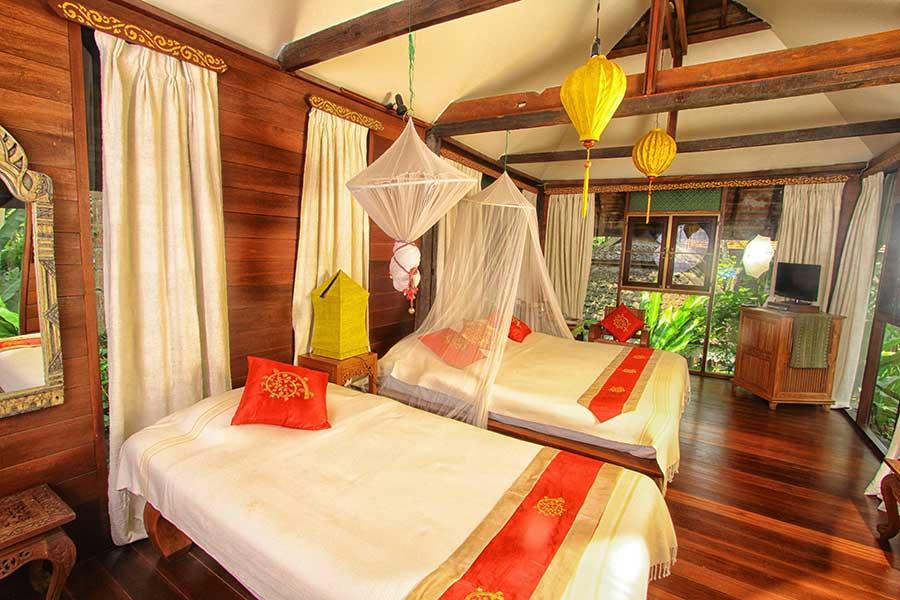 Lanna Spa Villa Accommodation13 Ban Sabai Village Resort And Spa Chiang Mai