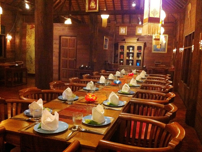 Ban Sabai Village Resort And Spa Chiang Mai Dining at Wild Orchid