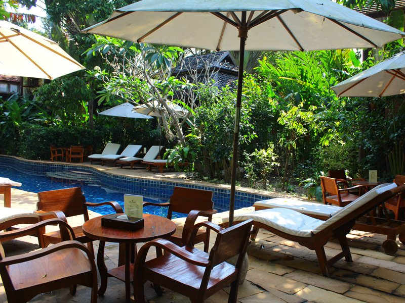 Ban Sabai Village Resort And Spa Chiang Mai Pool 01 - chiang mai spa resorts