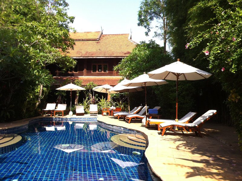 Ban Sabai Village Resort And Spa Chiang Mai Pool 06 - chiang mai spa resorts