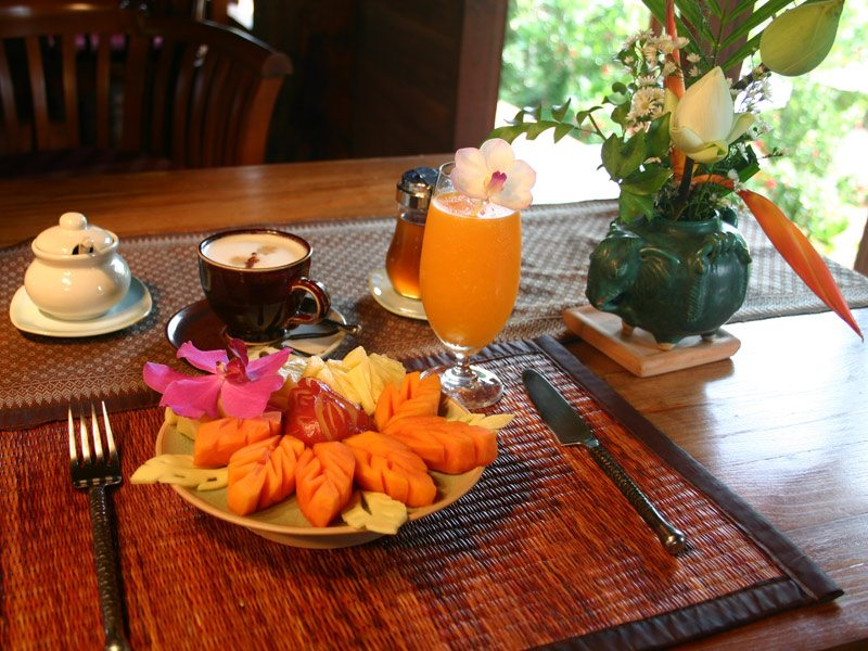 Ban Sabai Village Resort And Spa Wild Orchid Restaurant in Chiang Mai