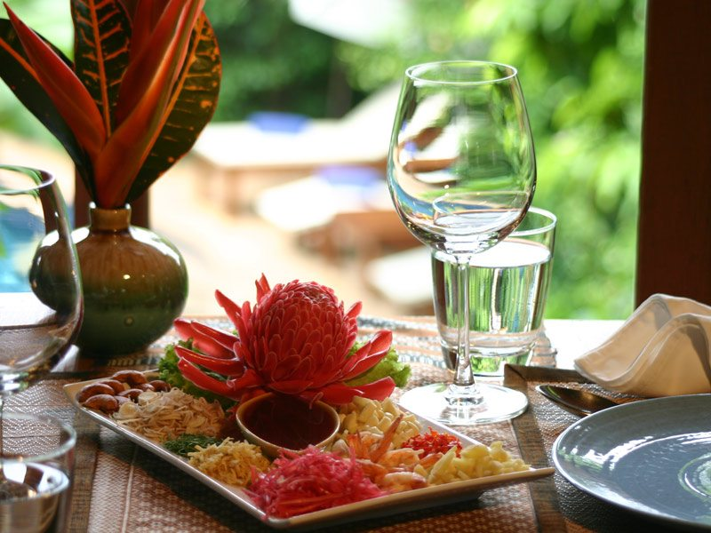Ban Sabai Village Resort And Spa Wild Orchid Restaurant Chiang Mai