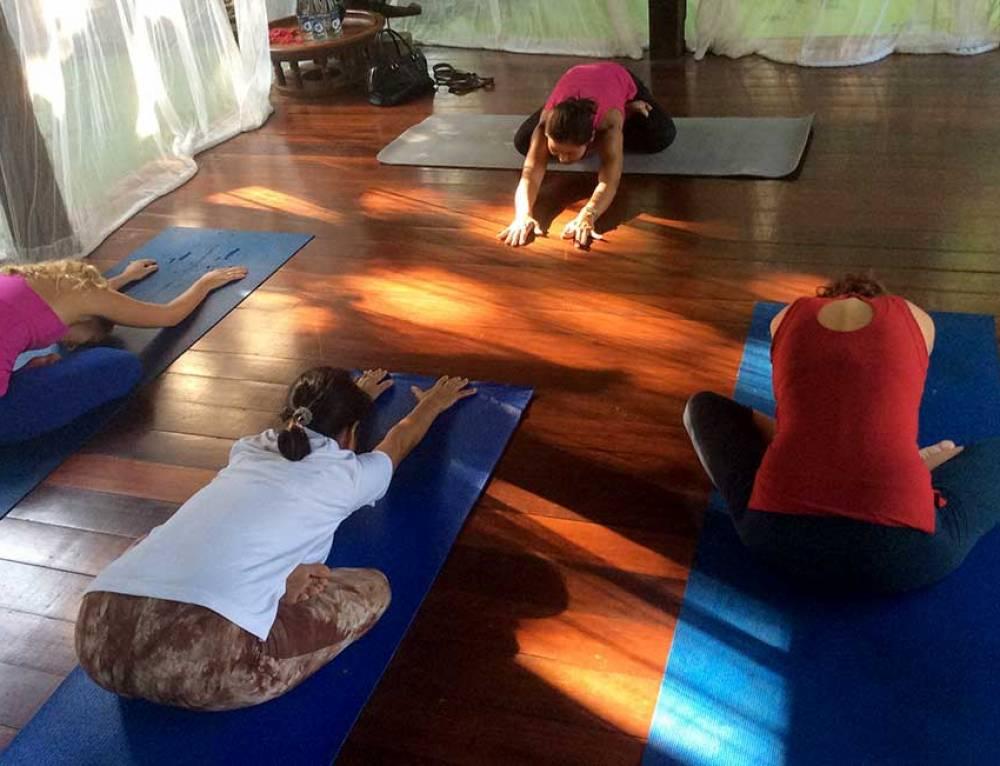 A new lease of life through yoga practice at Ban Sabai Village Resort