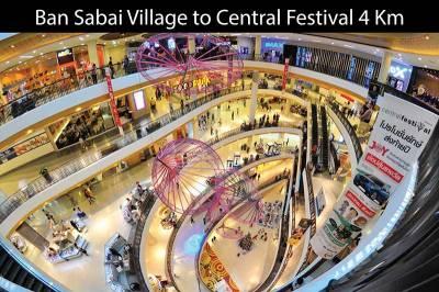 Chiang Mai shuttle bus - Festival Mall