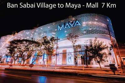 Chiang Mai shuttle bus - Maya Mall
