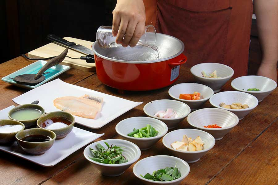 Thai cooking classes Chiang Mai