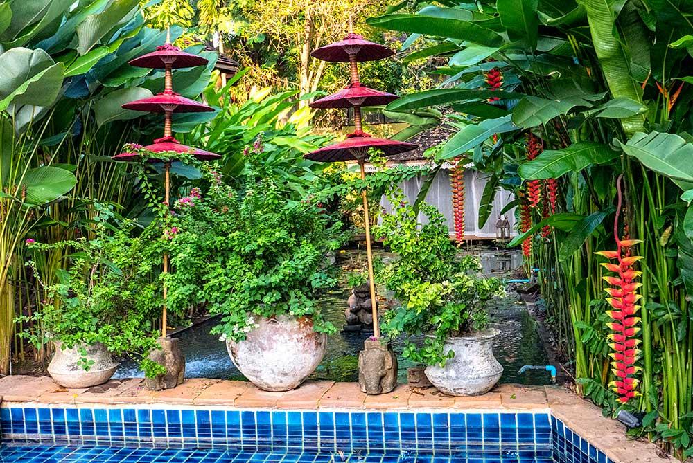 Ban Sabai Care home gardens