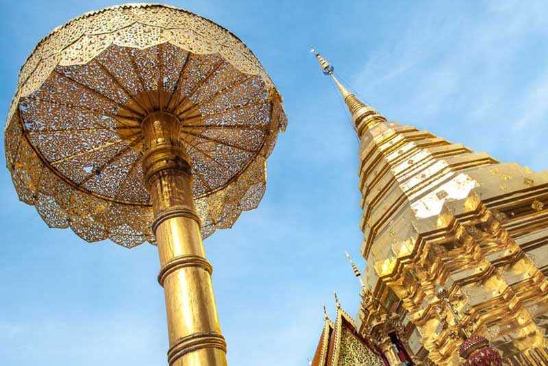 Chiang Mai activities - temple visit