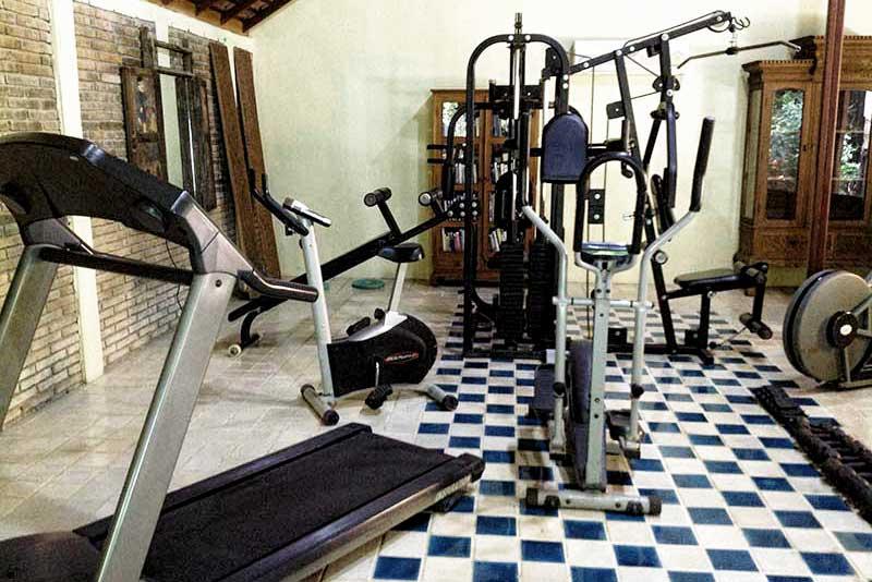 Chiang Mai nursing home gym