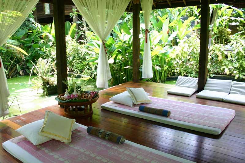 Chiang Mai retirement home - Massage sala