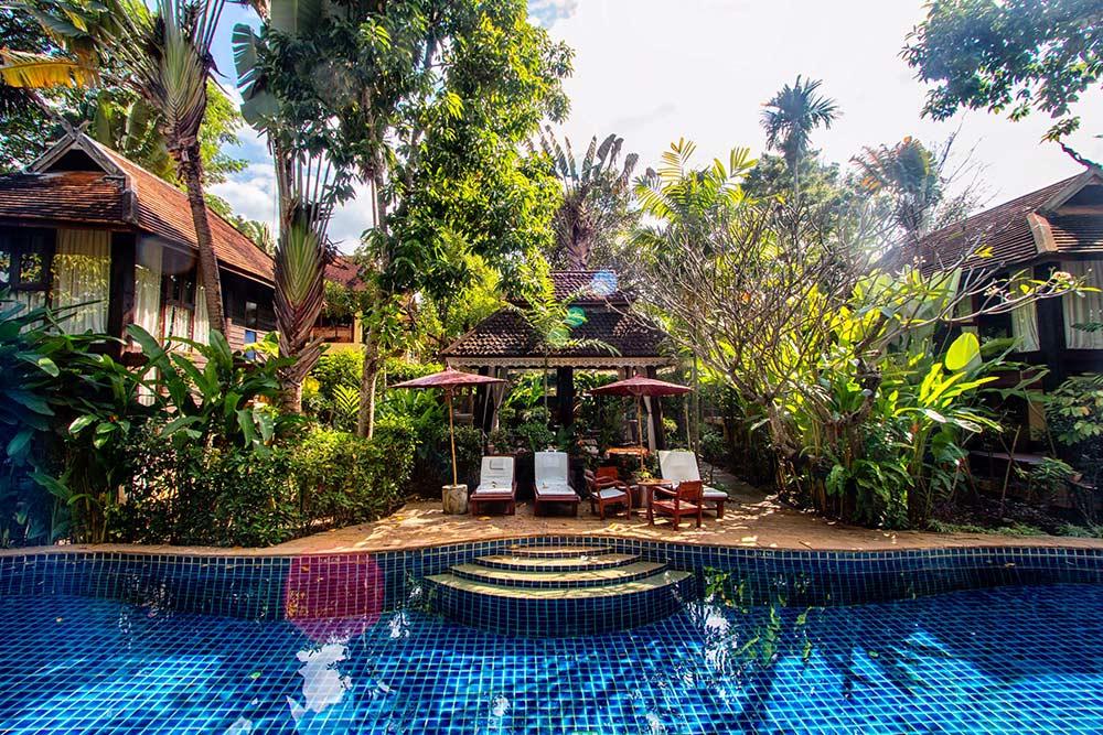 Chiang Mai retirement home - Pool