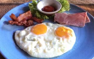 Breakfast at Ban Sabai care home