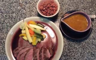 International cuisine at Ban Sabai care home Chiang mai