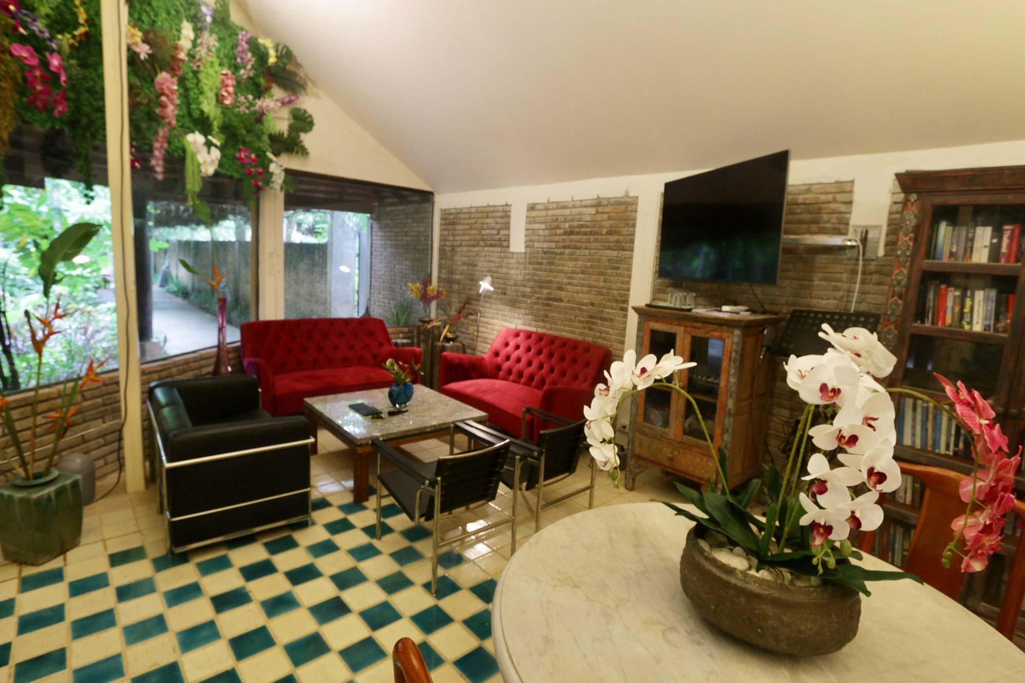 Chiang Mai care home - lounge